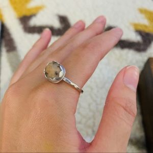 .925 sterling silver wanong stone size 7.75